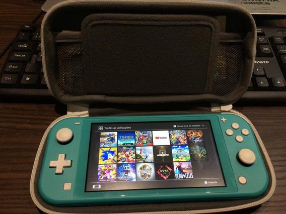 Nintendo Switch + Jogos 17 + Case + Película De Proteção
