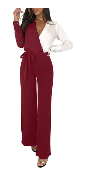 Sexy Elegante Jumpsuit Enterizo Romper 64467