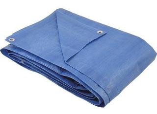 Lona Leve Azul 8x6m Polietileno Eccofer