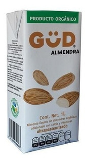 Leche De Almendras Organica 5 Piezas De 1 Litro
