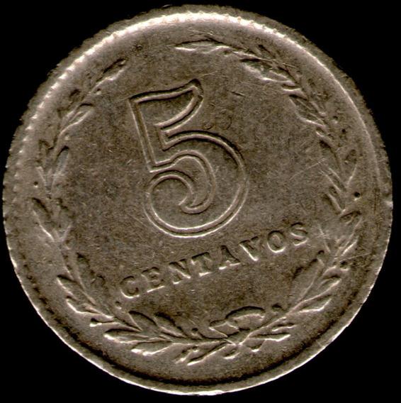 Spg Argentina 5 Centavos 1930