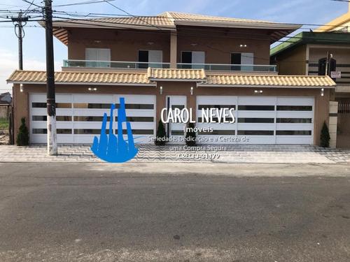 Imagem 1 de 9 de 4917- Excelente Sobrado Novo 2 Dormitórios Em Praia Grande