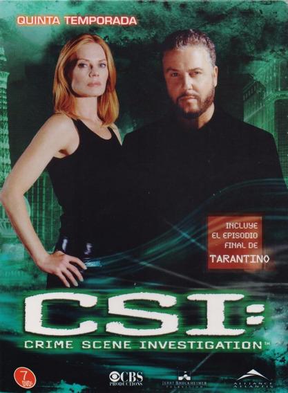 Csi Las Vegas Temporada 5 Dvd