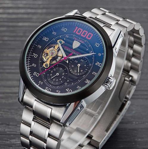 Tevise Chronograph 8378 Reloj Automático De Lujo Original