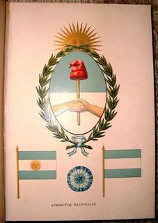 Codigo Comercio 1889 Republica Argentina Mapa Ferrocarriles