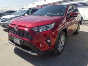 Toyota Rav4 2019 Limited Roja Nueva Linea Comonueva 3 Años G
