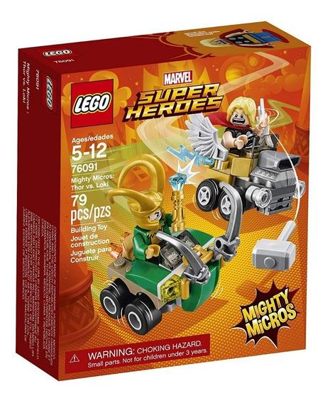 Lego Marvel Super Heroes Mighty Micros: Thor Vs. Loki 76091