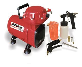 Compressor Ar Direto 2,3 Pes Com Kit Bivolt Jetmais Motomil