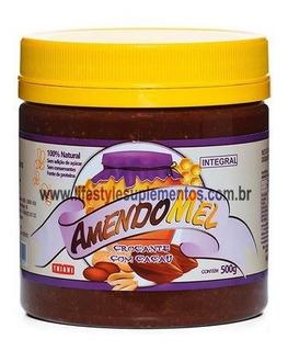 Pasta De Amendoim Amendomel Crocante Com Cacau - 500g - Thia