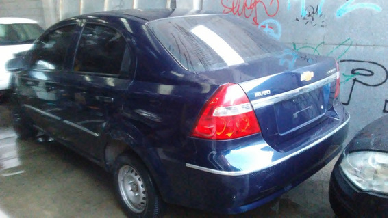 Chevrolet Aveo Dado De Baja Chocado Con Alta De Motor