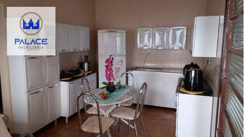 Casa Com 3 Dormitórios À Venda, 175 M² Por R$ 410.000,00 - Remanso Campineiro - Hortolândia/sp - Ca0878