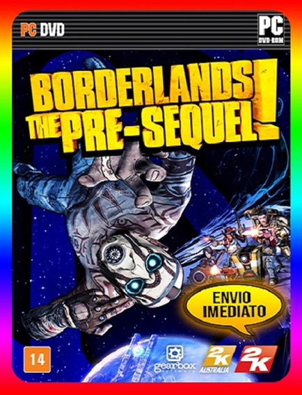 Borderlands The Pre Sequel Pc - Steam Key (envio Já)