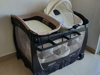 Corral Graco Negro Pack
