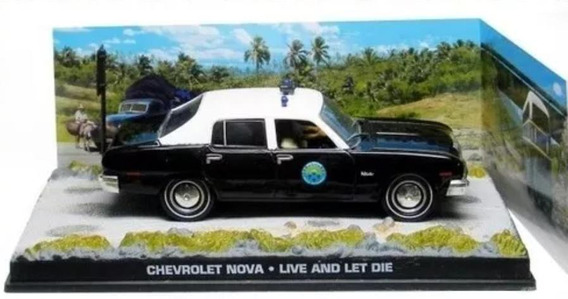 Miniatura Chevrolet Nova 1:43. 007 Live And Let Die