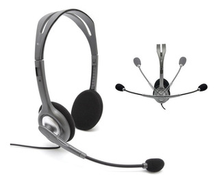 Auriculares Headset Logitech H111 Microfono Remplazo H110