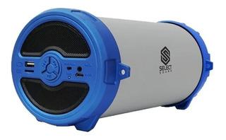 Bocina Select Sound Bazooka BT228 portátil inalámbrica Azul
