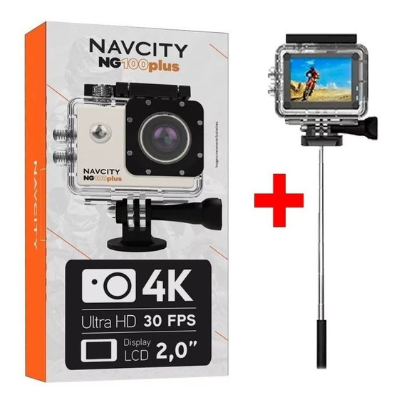 Câmera Esportiva Navicity Ng100plus - Ciclismo E Motociclism
