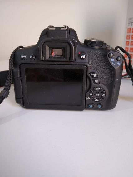 Câmera Fotográfica Canon T6i