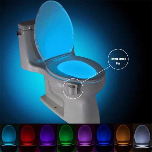 Imagen 1 de 10 de Luz Con Sensor Para Baños