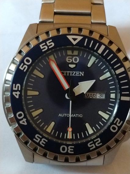 Relógio Citizen Marine Original Automático 100m