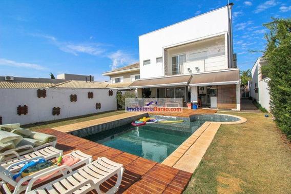 Casa Com 4 Dormitórios À Venda, 328 M² Por R$ 1.650.000,00 - Barão Geraldo - Campinas/sp - Ca1592
