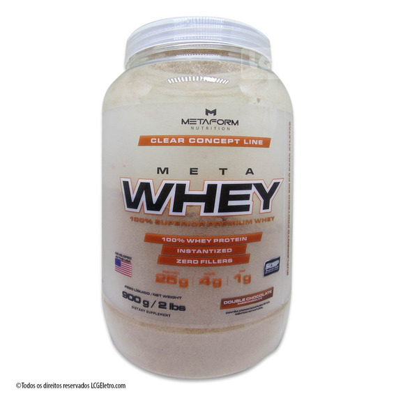Whey Protein Meta Whey 900g Metaform Suplemento Alimentar