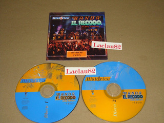 Banda El Recodo Historico En Vivo Recodo 2003 Univision 2cds