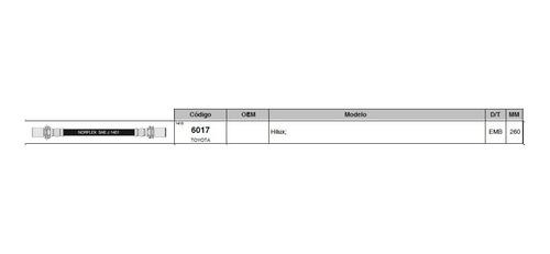 Flexible De Embrague Toyota Hilux 2.8 260mm
