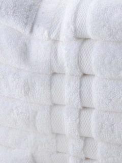Toalla Blanca Hotelera 100% Algodón 76x132 Cm, 570 Gramos