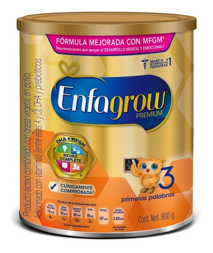 Enfagrow Etapa 3 Premium 800gr