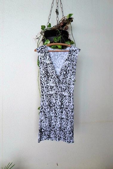 Vestido Marisa Decote Transpassado Estampa Animal Print Onça