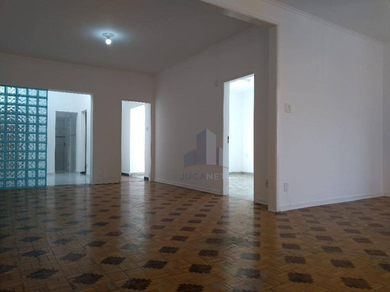 Casa Comercial Para Locação., 350,00m2 Cost. 500,00m2 Terreno No Centro De Mauá - Ca0051