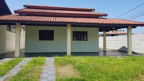 Casa Lado Praia Com Churrasqueira Em Itanhaém/sp Ca033-pc