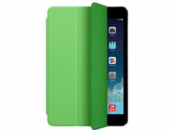 Capa Protetora Para iPad Mini Cor Verde E Vermelho