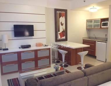 Flat Com 1 Dormitório Para Alugar, 32 M² Por R$ 3.000/mês - Alphaville Industrial - Barueri/sp - Fl0026