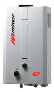 Boiler Calentador De Paso Flux Mirage 6 Lts/min. Gas Natural