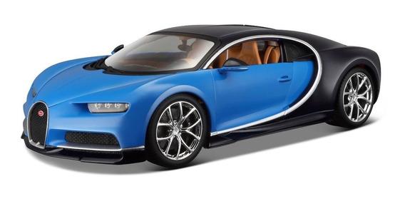 Bugatti Chiron 1/18 Bburago Burago Detalles Realistas Metal