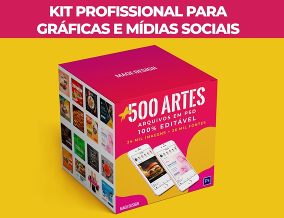 Megapack 67gb Artes Gráficas Psd Editavel + 34 Mil Imgs Png