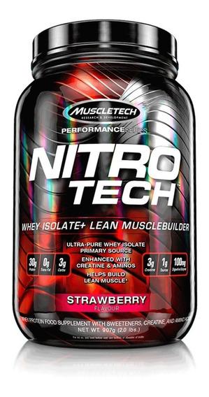 Proteina Whey Nitro Tech 2 Lb Muscletech