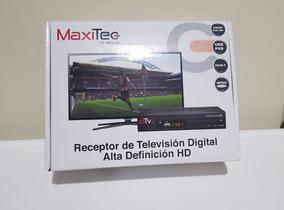 Decodificador Maxitech Televisión Señal Abierta Ecuador
