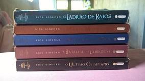 Coleção Percy Jackson E Os Olimpianos