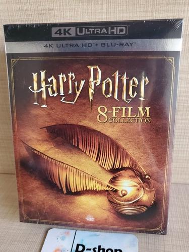 Harry Potter 8 Film Collection 4k Bluray Película Nuevo