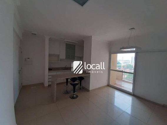 Apartamento Com 2 Dormitórios Para Alugar, 67 M² Por R$ 1.400/mês - Jardim Maracanã - São José Do Rio Preto/sp - Ap1963