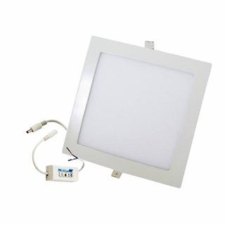 Plafon Spot Led Sica Embutir 18w Cuadrado Luz Fria O Calida