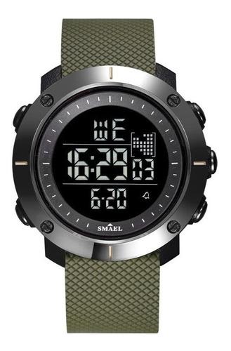 Relógio Masculino Digital Ultra Esportivo Preto Militar