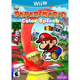 Videojuego Paper Mario: Color Splash Wii U