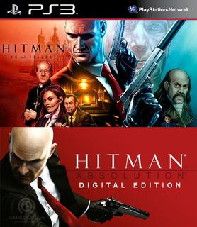 Hitman Trilogy Hd + Hitman Absolution Ps3 Digital Gcp