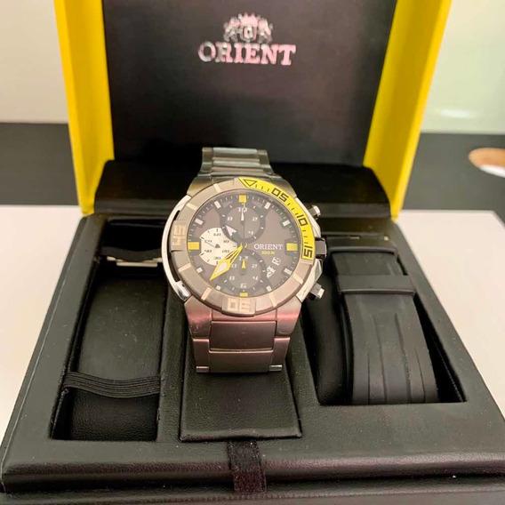 Relógio Orient Sea Tech Diving Titanium