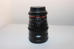 Rokinon Cine Lens 35mm 1.5 - Para Canon Ef