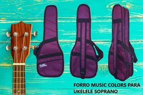Forro Para Ukelele Fabricación Music Colors® 20$